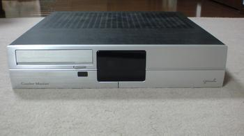 PT2 HTPC テレビ録画機用 PCケース Cooler Master CM Media 260 Silver ④.JPG
