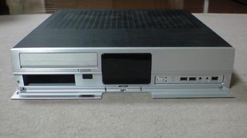 PT2 HTPC テレビ録画機用 PCケース Cooler Master CM Media 260 Silver ⑥.JPG