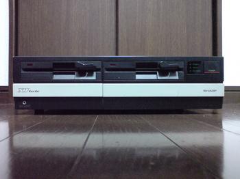 SHARP X1turbo CZ-852CE ① 正面.JPG