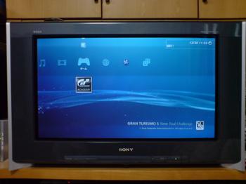 SONY ハイビジョンブラウン管TV KD-36HR500.JPG
