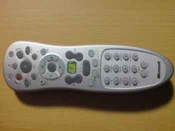 Windows XP Media Center Edition 2005 OEM Software ④ Media Center リモコン.JPG