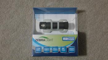 ZebraLight H501 クールホワイトLED タスクライト ヘッドランプ③.JPG