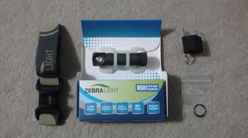 ZebraLight H501 クールホワイトLED タスクライト ヘッドランプ④.JPG