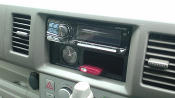 iPod nano (5th) 専用の車載ホルダー完成?①.JPG