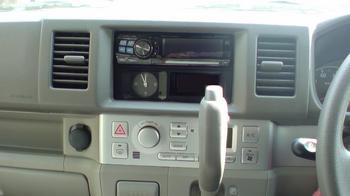 iPod用車載ホルダーを再製作 オーディオパネルの取り外し①.JPG