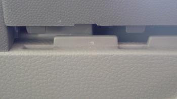 iPod用車載ホルダーを再製作 オーディオパネルの取り外し②.JPG