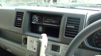 iPod用車載ホルダーを再製作 オーディオパネルの取り外し④.JPG