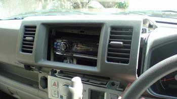 iPod用車載ホルダーを再製作 オーディオパネルの取り外し⑤.JPG