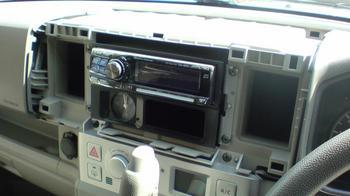 iPod用車載ホルダーを再製作 オーディオパネルの取り外し⑥.JPG