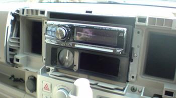 iPod用車載ホルダーを再製作 オーディオ取り付けキットからの取り外し①.JPG