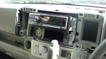 iPod用車載ホルダーを再製作 オーディオ取り付けキットからの取り外し②.JPG