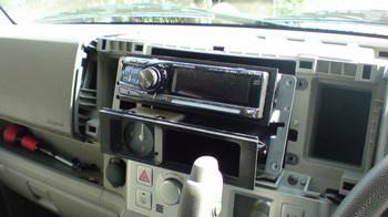 iPod用車載ホルダーを再製作 オーディオ取り付けキットからの取り外し④.JPG